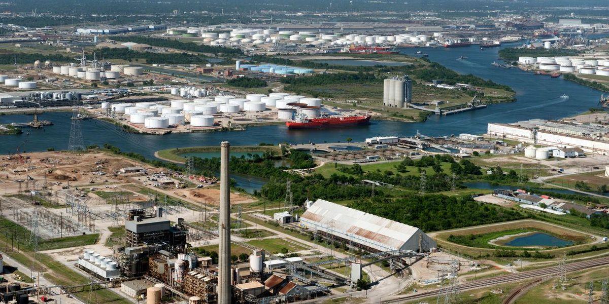 Houston Ship Canal air pollution