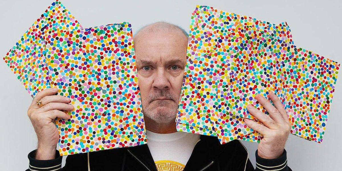 Damien Hirst Takes High Art to the Crypto Market