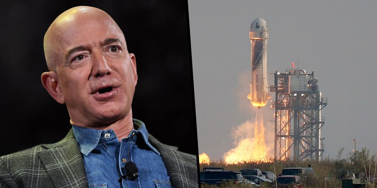 More Than 185,000 People Signed Petitions To Stop Jeff Bezos From Returning to Earth