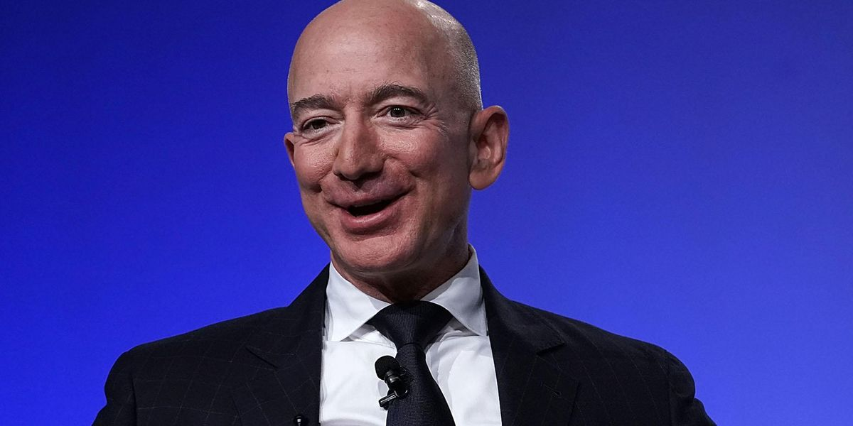 People Astonished By Jeff Bezos' First Words In Space