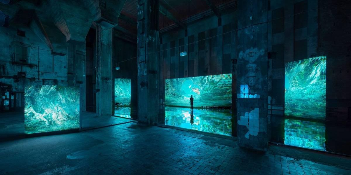 Arca Soundtracks New Exhibition Next to Berghain