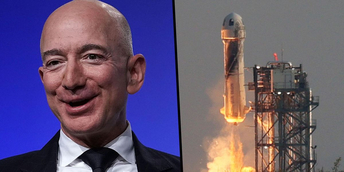 Jeff Bezos Thanks Amazon Employees and Customers for Paying for His Trip to Space
