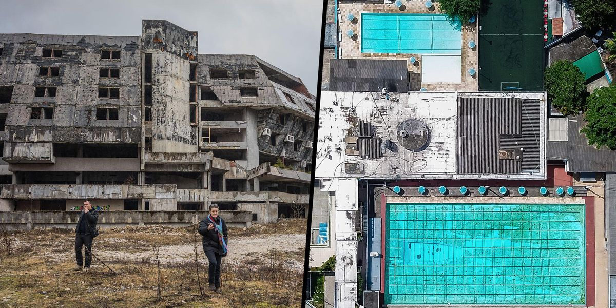 People Are Claiming These Abandoned Olympic Venues Prove the Games Are a Giant Waste of Money