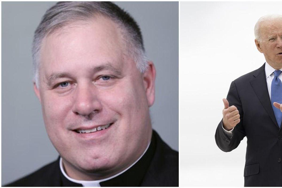 Catholic leader whose organization voted to deny Biden communion caught using gay dating app