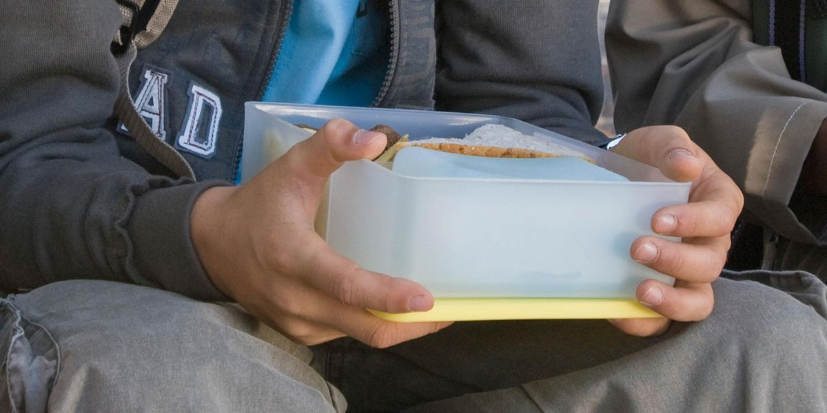 Mom Slammed After Sharing Photo of Her Teen Son's Work Lunchbox