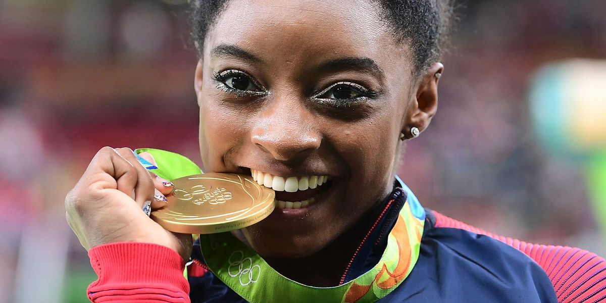Simone Biles Gets Custom GOAT Twitter Emoji and Becomes First Olympian To Be Honored With One