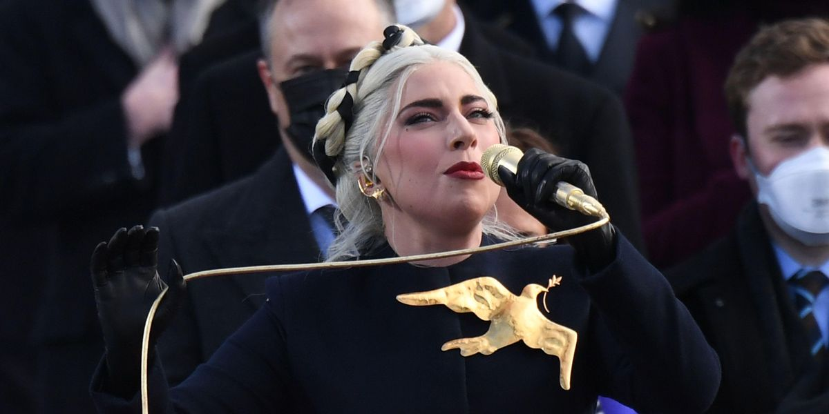 You Can Now Buy Lady Gaga's Inauguration Brooch
