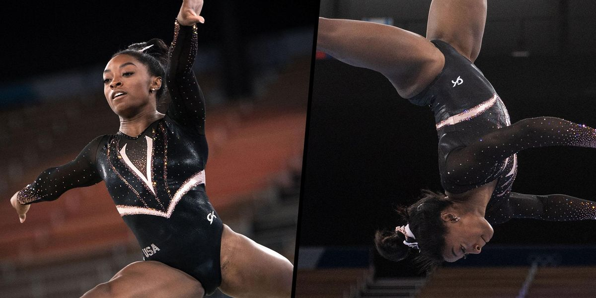 Simone Biles Just Landed a Vault No Woman Has Ever Done in Tokyo Olympic Practice Run