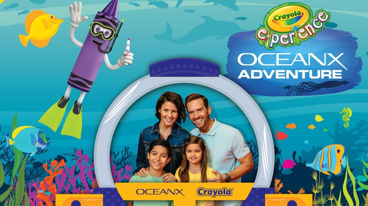 Crayola and OceanX Launch Partnership to Teach Kids About the Wonders of the Ocean