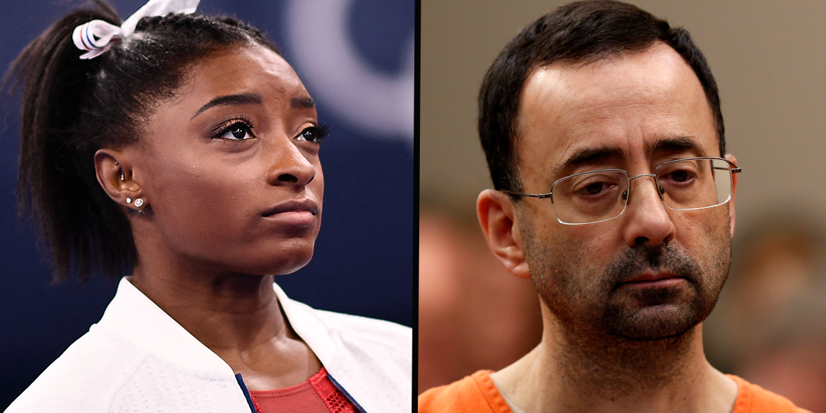 Simone Biles Says Abuse by Team USA Doctor May Have Contributed to Olympic Withdrawal