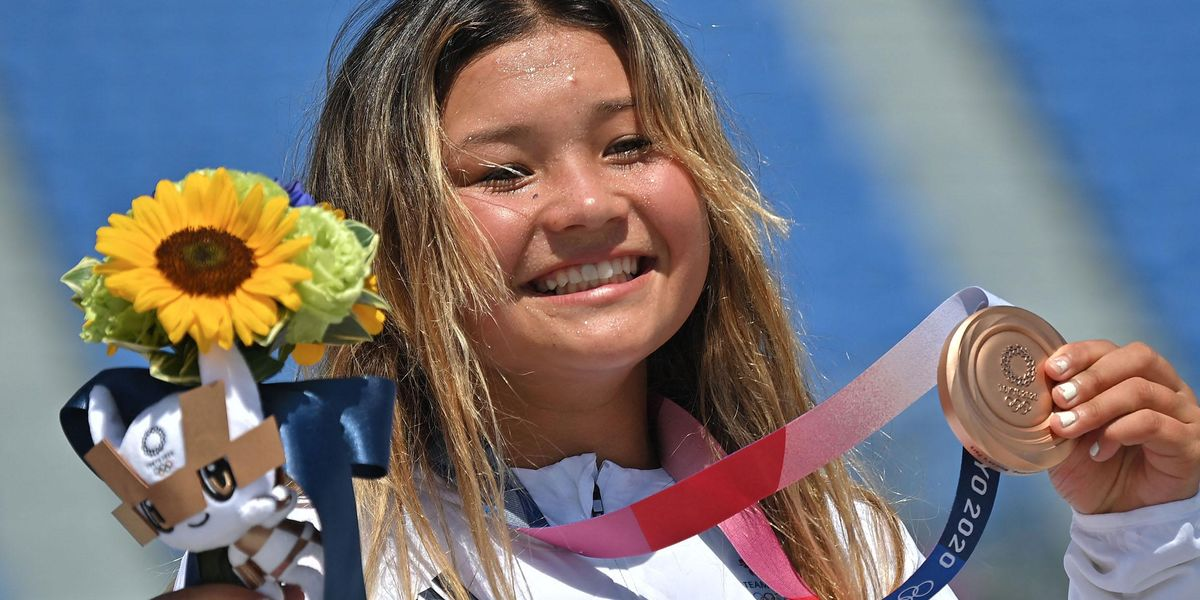 13-Year-Old Olympic Skateboarder Defied a Cracked Skull To Win Bronze