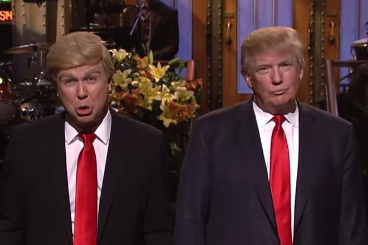 Donald Trump's Cringeworthy SNL Hosting Gig Was Torture For All Parties Involved
