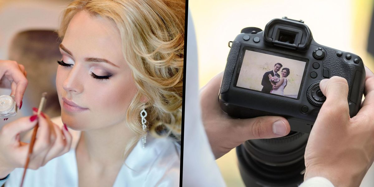 Man Says His Wife 'Ruined' Their Wedding Photos by Not Wearing Makeup