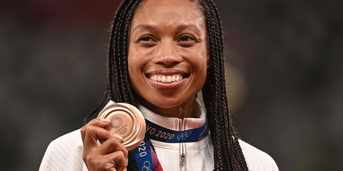 Olympic Sprinter Allyson Felix Shares Adorable Video of Daughter Watching Her on TV