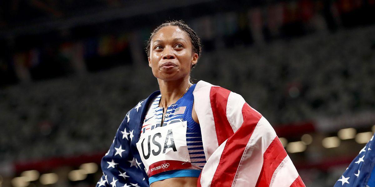 Allyson Felix Makes U.S. Olympic Athlete History