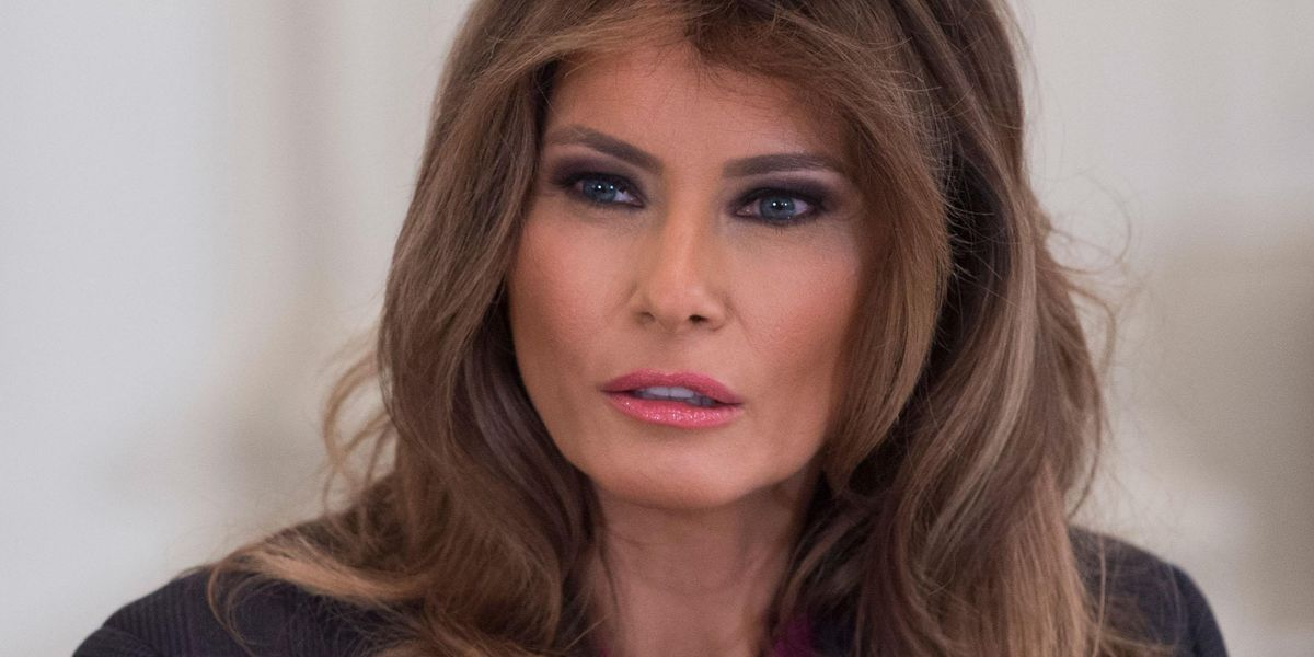 Melania Trump Lashes Out at Historian Who Criticized Her 'Grim' Rose Garden Renovation