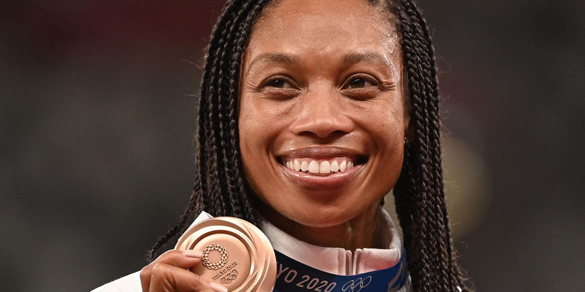 Allyson Felix Shows off C-Section Scar in Powerful Photo