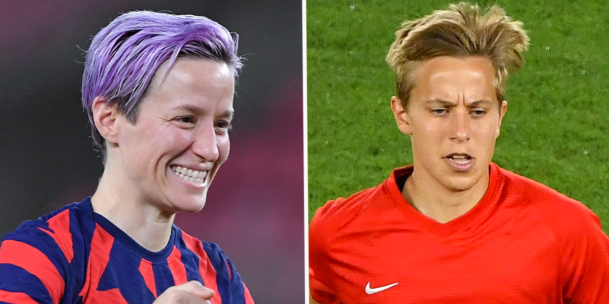 Megan Rapinoe Congratulated Canada's Quinn After They Became the First Trans Gold Medalist in Olympic History