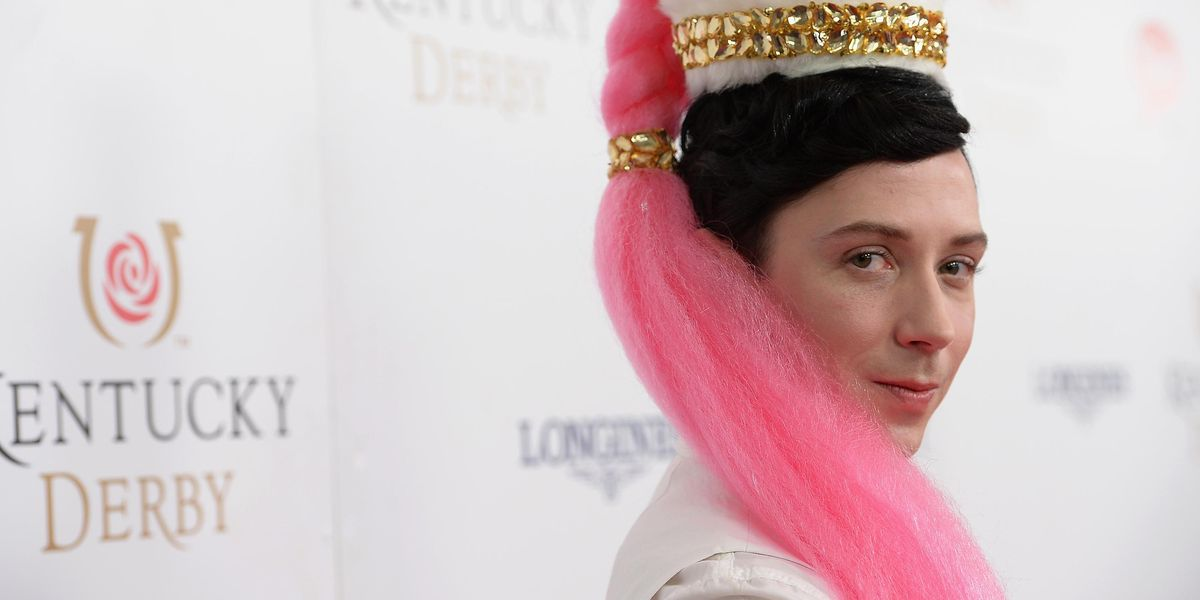 Johnny Weir Responds to Conservative Criticism of His Olympics Look