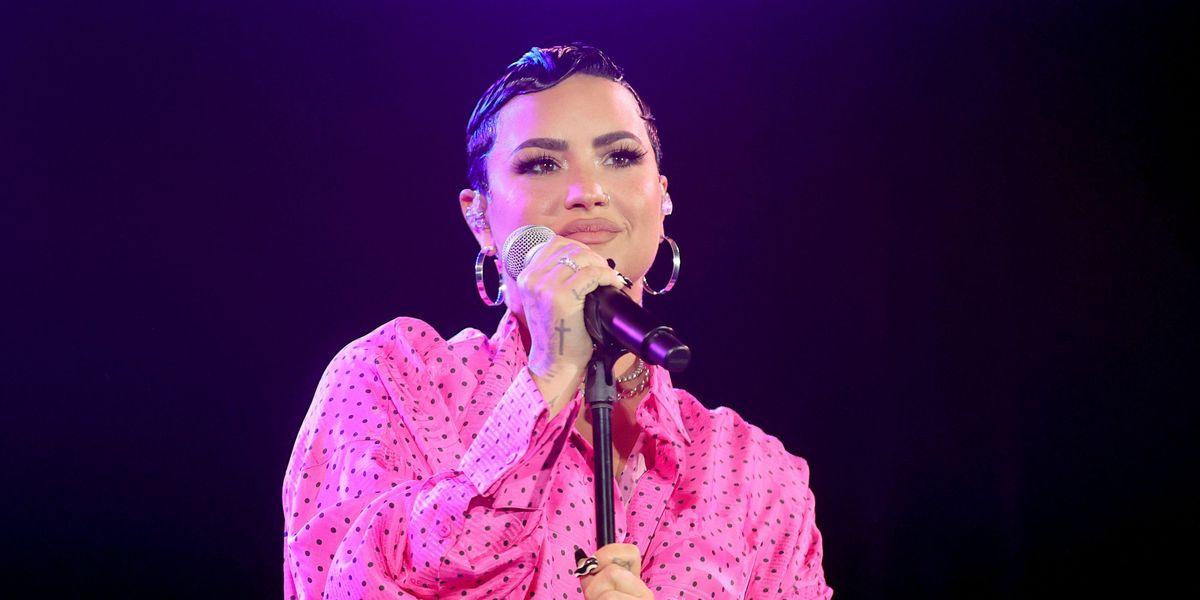 Demi Lovato Criticized for 'Hypocritical' Festival Performance