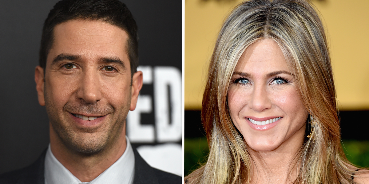 David Schwimmer Responds to Rumor he and Jennifer Aniston are Dating