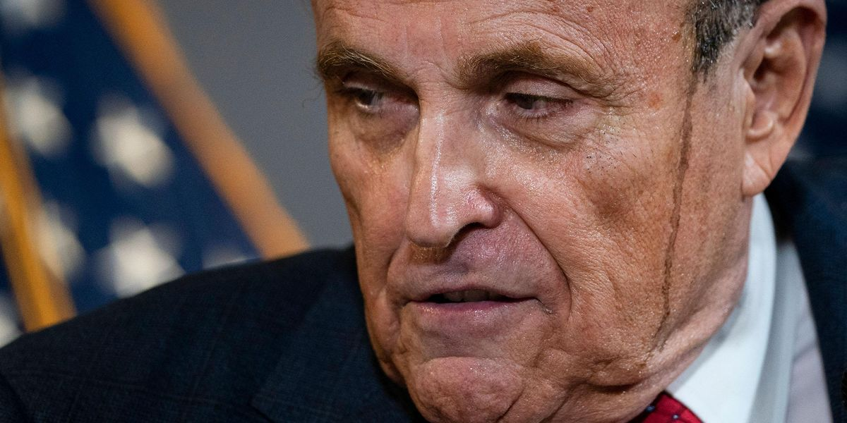 Rudy Giuliani Is Now Shut Out, 'Close to Broke,' and Forced To Sell Personalized Videos for $199