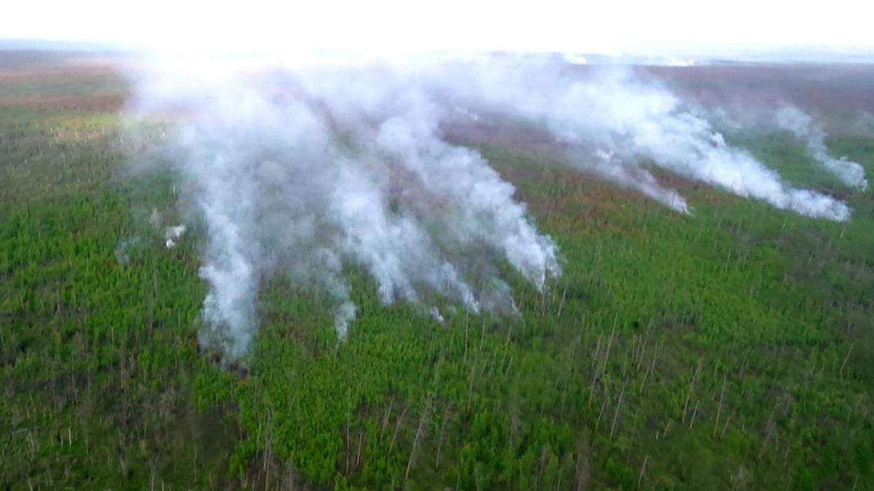 Smoke From Wildfires Reaches North Pole for First Time in History