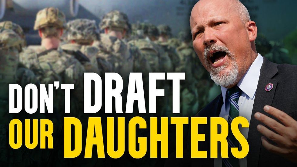 Rep. Chip Roy SLAMS fellow GOP & Dems who support DRAFTING our daughters