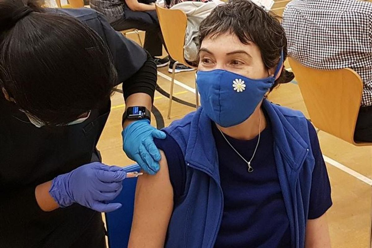 Good news: Vaccination rates are up across America, even in hard to reach 'hesitant' areas