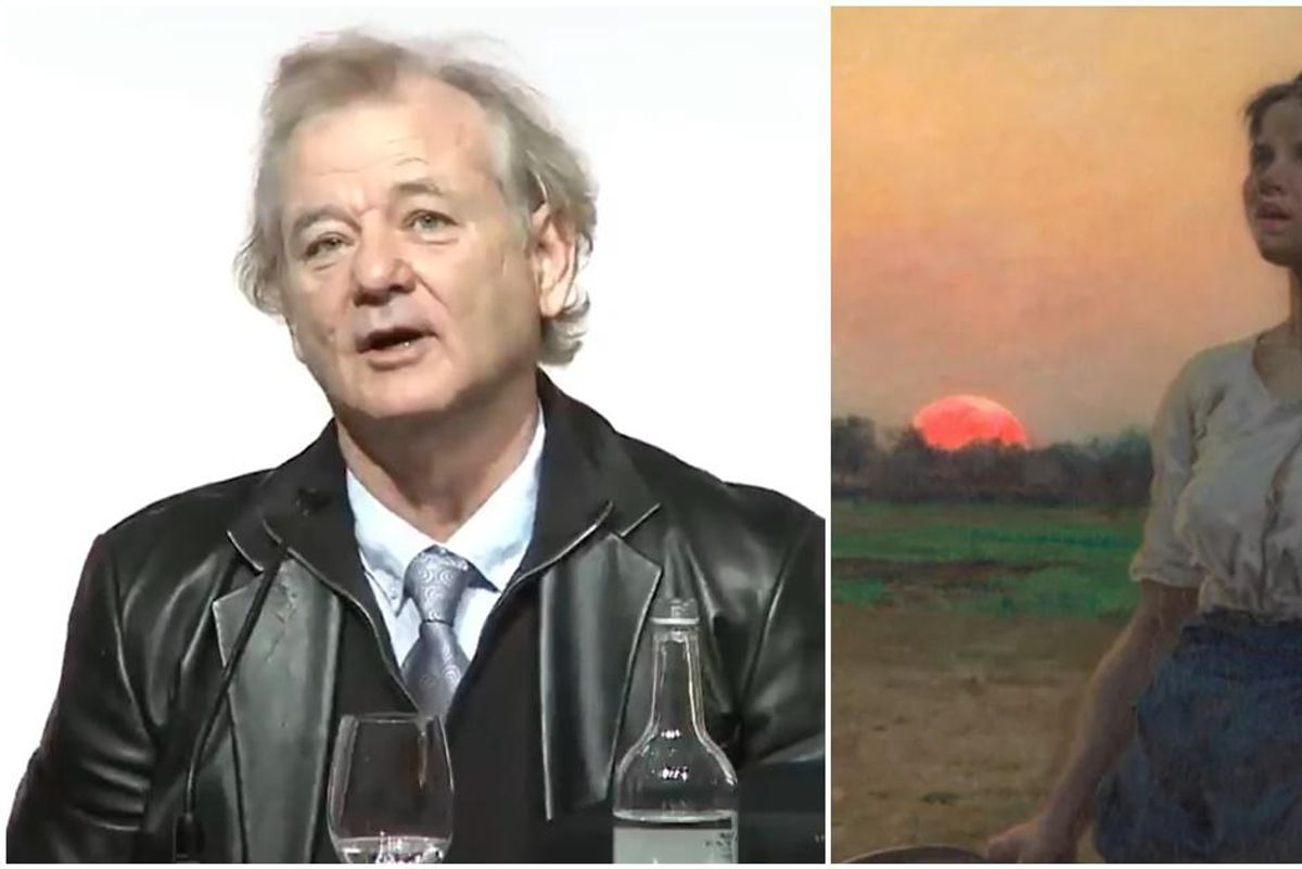 The power of art: Bill Murray shares how a painting prevented him from committing suicide
