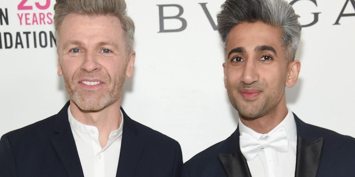 'Queer Eye' Star Tan France Welcomes His First Son With Husband Rob