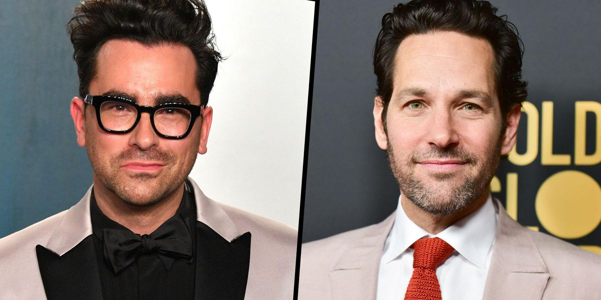 Dan Levy and Paul Rudd Broke the Internet After Being Snapped Eating Dinner Together
