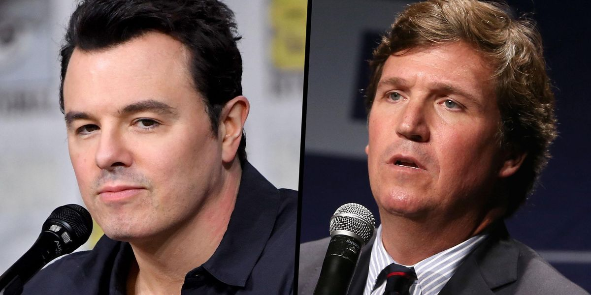 Seth MacFarlane Is So Frustrated With Tucker Carlson That He Wants To Take 'Family Guy' to Another Network