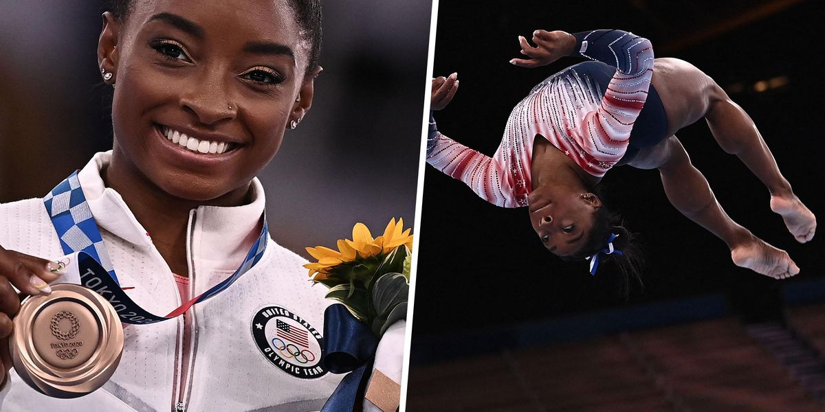 Simone Biles Says She'll Treasure Her Tokyo Bronze Medal 'A Lot More' After Everything She's Been Through