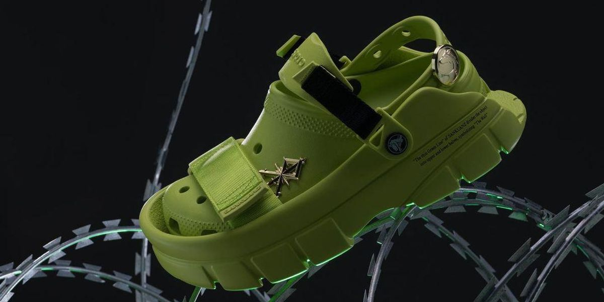 Crocs Teams Up With SANKUANZ For a Monster Clog