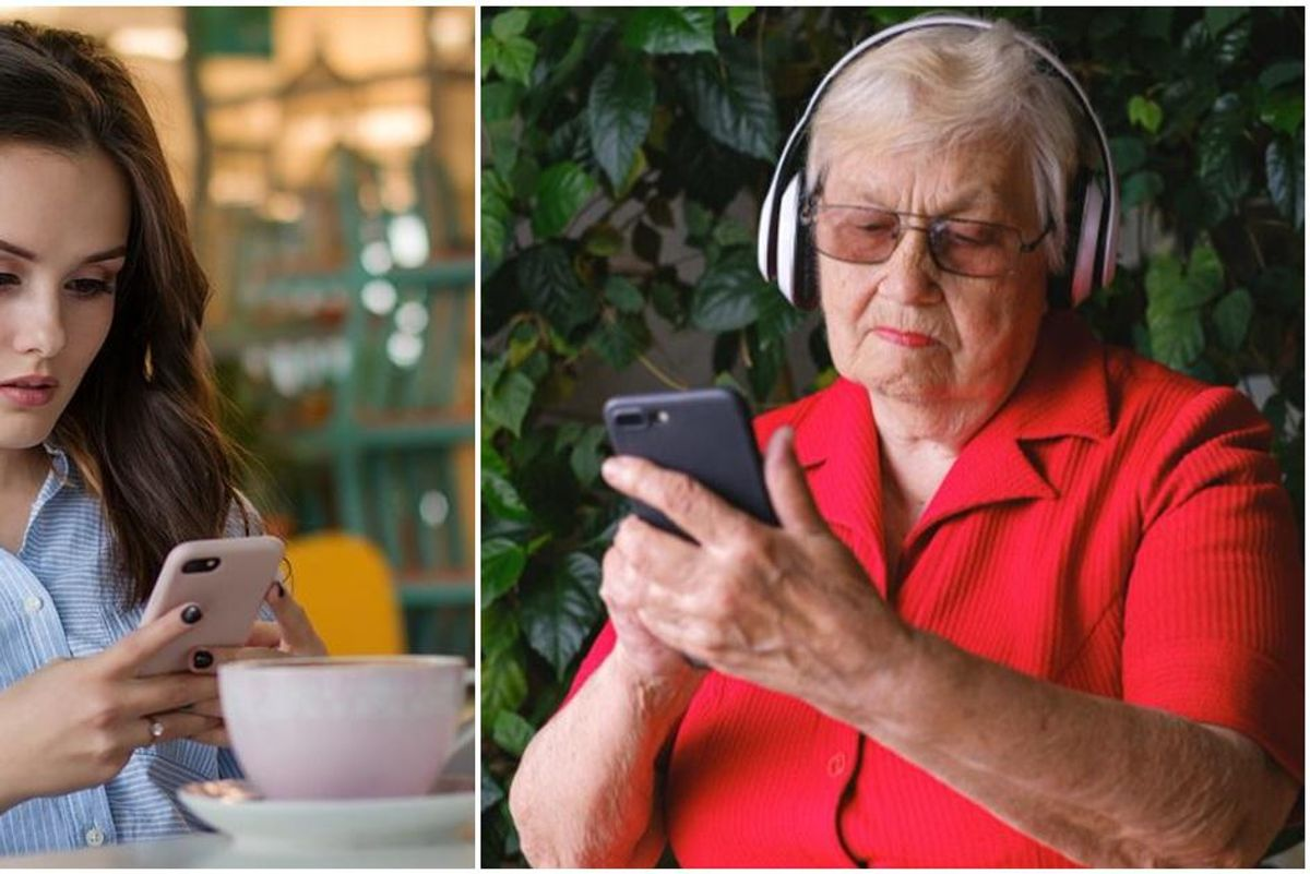 Boomers and Millennials love sparring but *SURPRISE* their phone habits are eerily similar