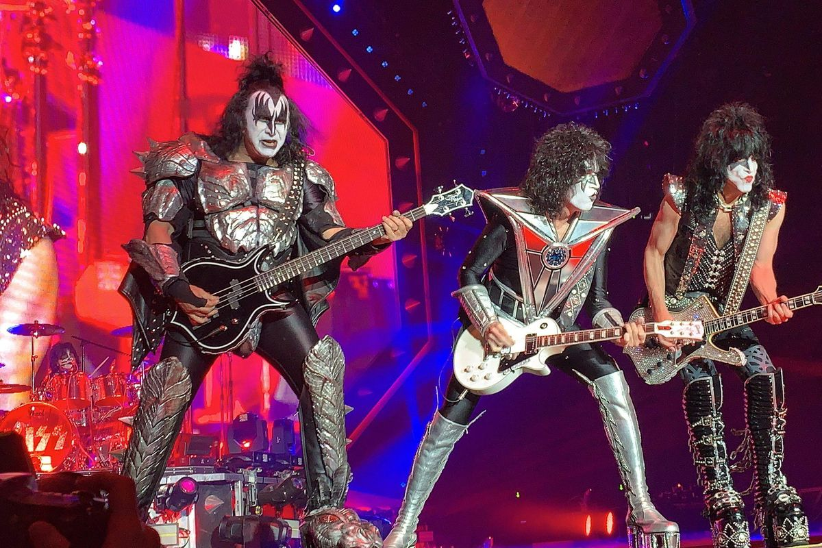 Rock legends KISS say goodbye to their fans in a surprisingly sweet new documentary