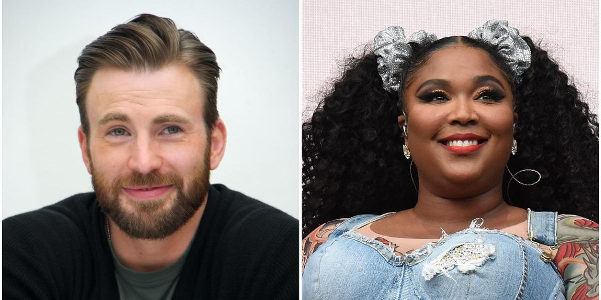 Chris Evans Responds to Lizzo's Joke About Their Baby