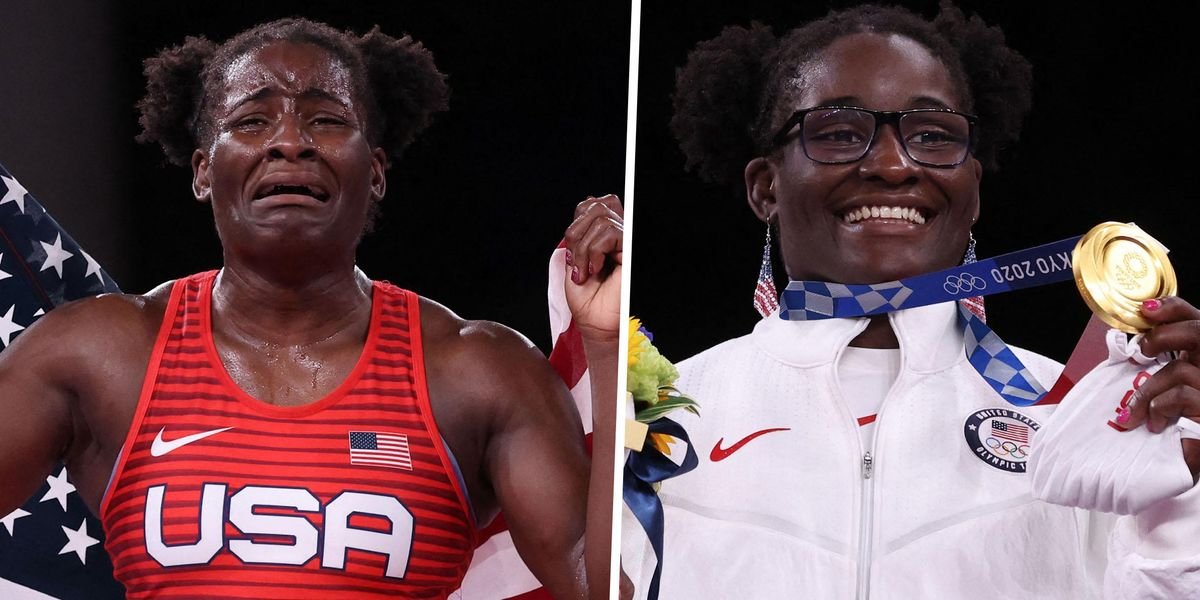 Tamyra Mensah-Stock Becomes First US Black Woman To Win Wrestling Gold