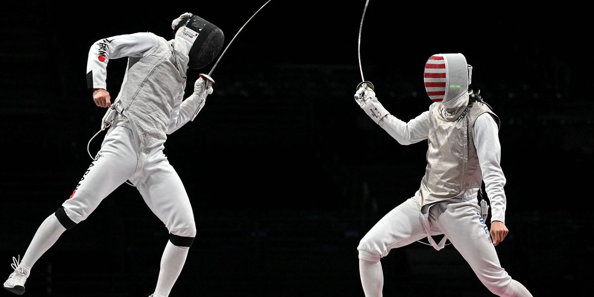 US Men's Fencing Team Wore Pink in Protest of a Teammate Accused of Assault