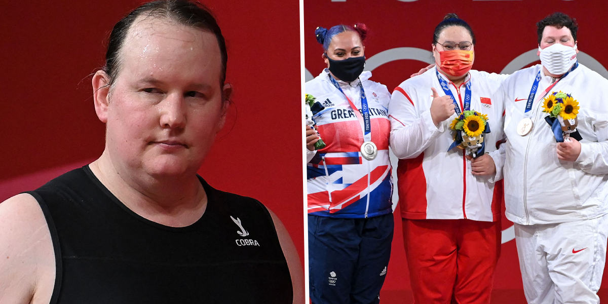 Olympics Reporter Met With Silence After Asking the Women's Weightlifting Podium About Laurel Hubbard