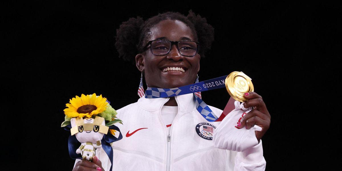 Tamyra Mensah-Stock Makes History at the Olympics