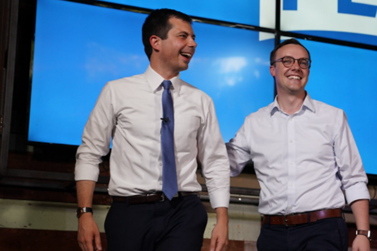 Pete and Chasten Buttigieg announce they are about to be new parents