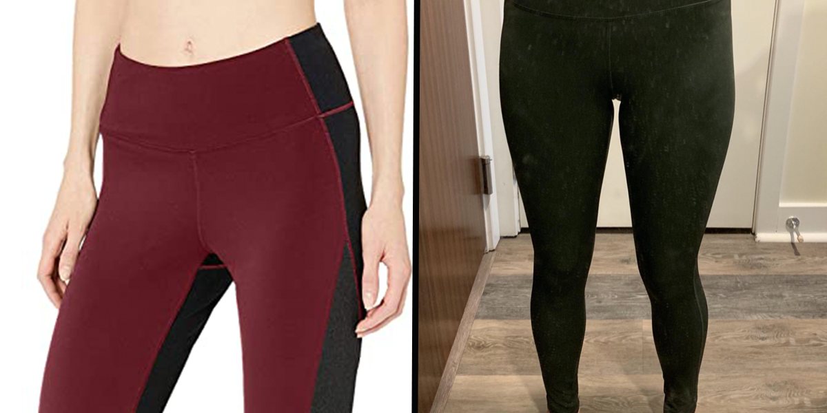 The Secret Slimming Feature on These $21 Leggings Has Shoppers Completely Obsessed