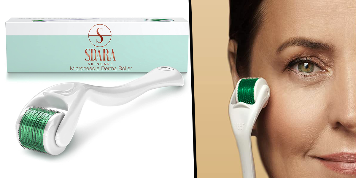 Dermatologist-Approved Derma Roller Is on Offer Right Now