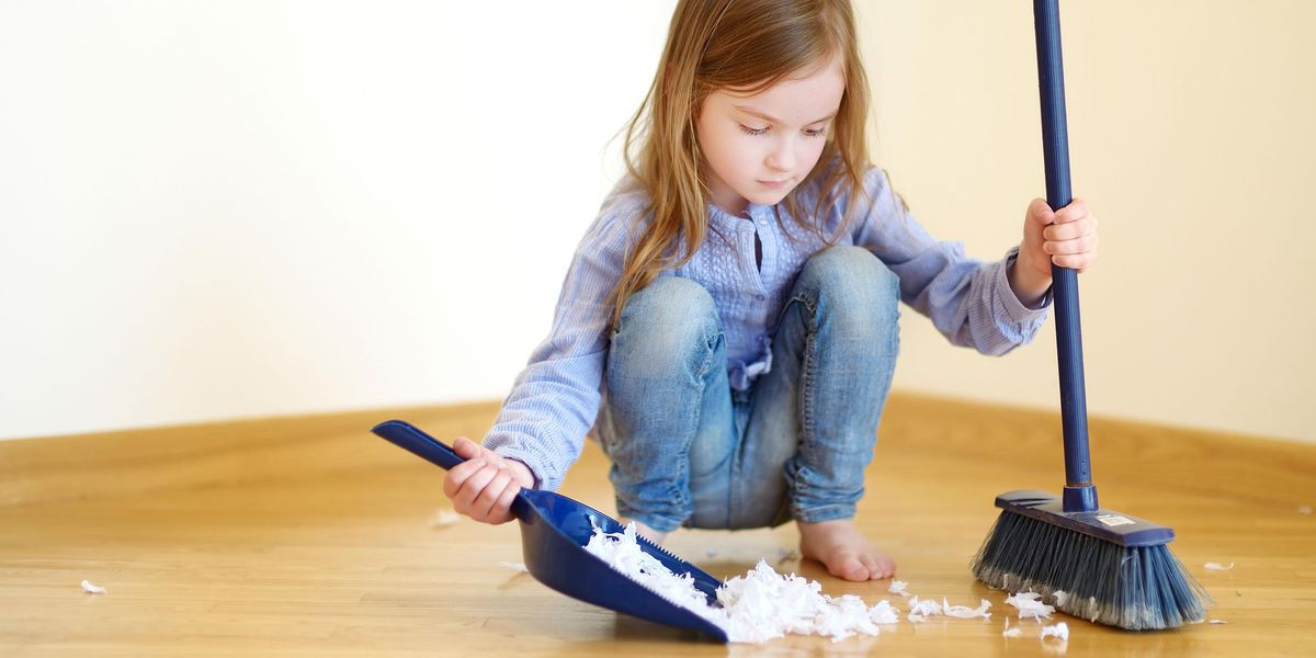 Kids' 'Dust! Sweep! Mop!' Set Encourages Children To Clean Up After Themselves