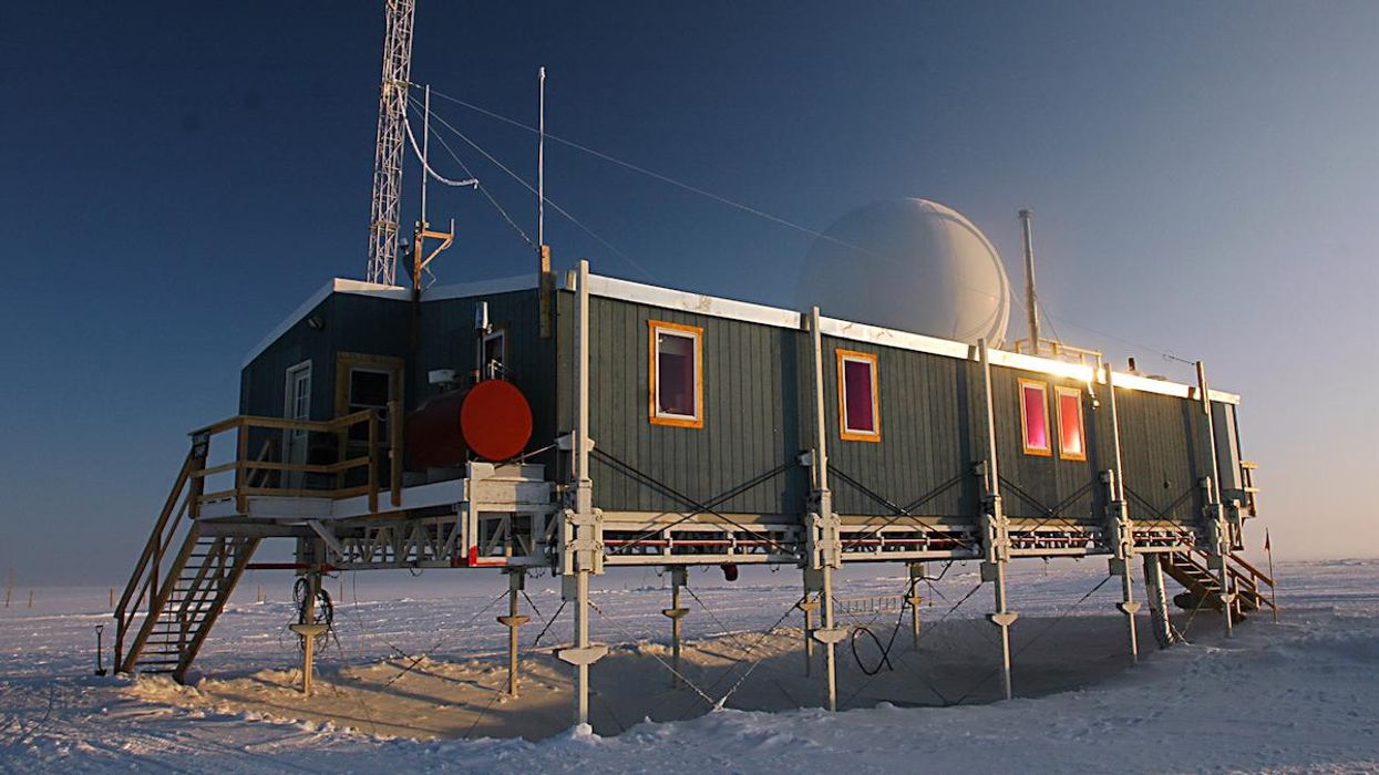 The National Science Foundation's Summit Greenland Environmental Observatory.
