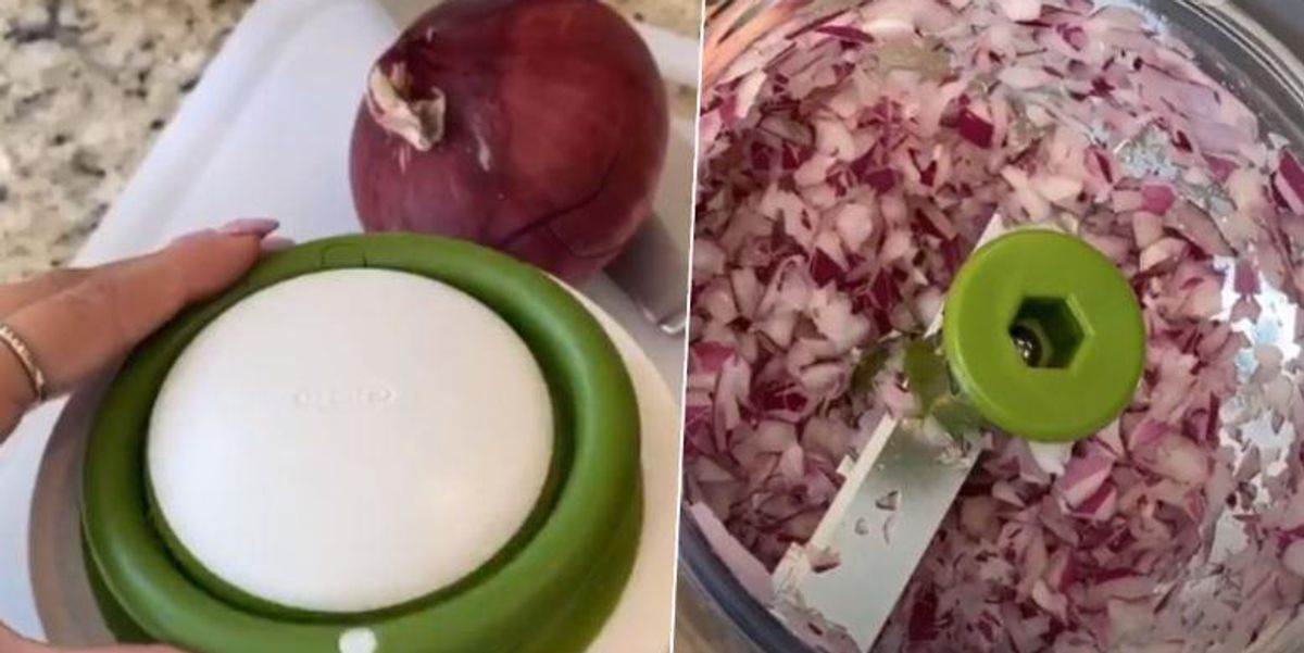 Vegetable Chopping Hack Goes Viral on TikTok and It's Changing Lives