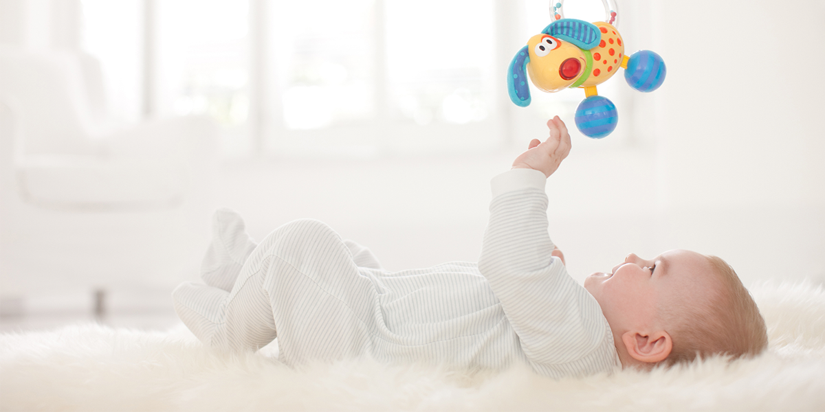 Inflatable Tummy Time Mat Is the Perfect Fun Time Play Activity Center for Your Baby's Stimulation Growth