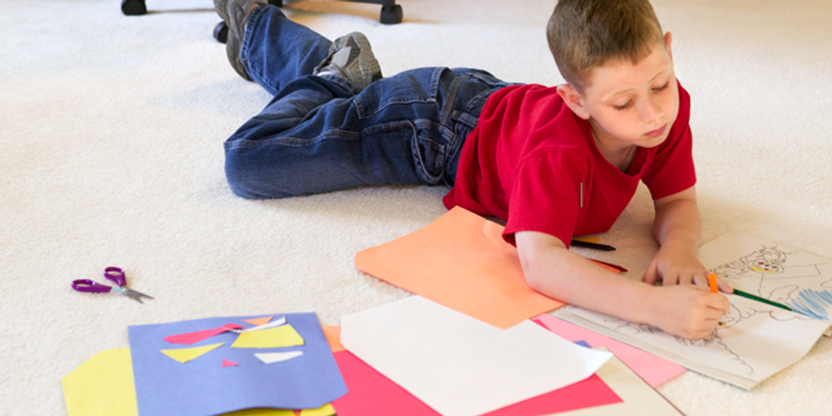 This Jumbo Doodle Mat Will Keep Your Kids Entertained for Hours and It's Under $20